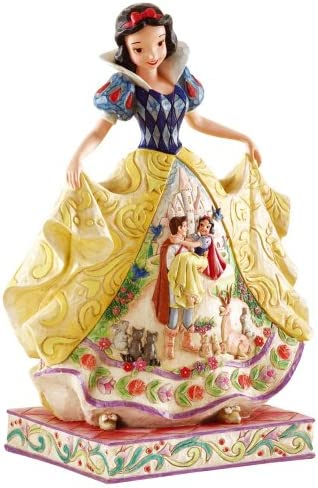 Disney Traditions by Jim Shore 4007992 Snow White Fairy Tale Endings Figurine 9-3 4-Inch