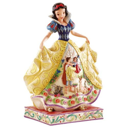 New 2007 Jim Shore - Disney Traditions by Jim Shore 4007992 Snow White Fairy Tale Endings Figurine 9-3/4-Inch
