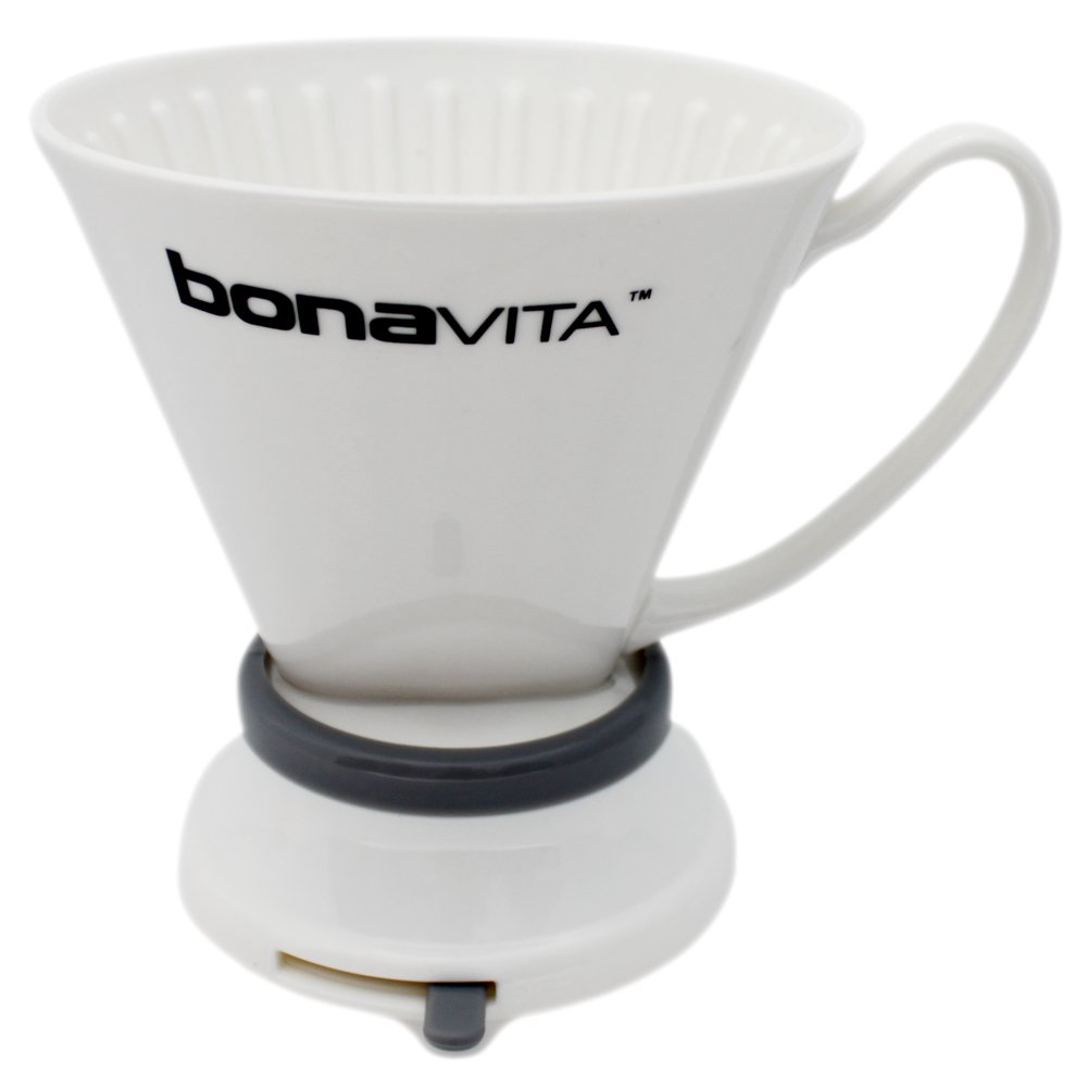 Bonavita BV4000ID Porcelain Immersion Coffee Dripper, White Espresso Supply Inc