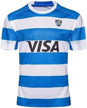 CRBsports Equipo Argentina, Rugby Jersey, Nueva Tela Bordada, Ropa Deportiva Swag: Amazon.es: Deportes y aire libre