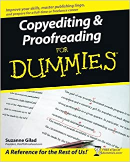 Becoming a proofreader
