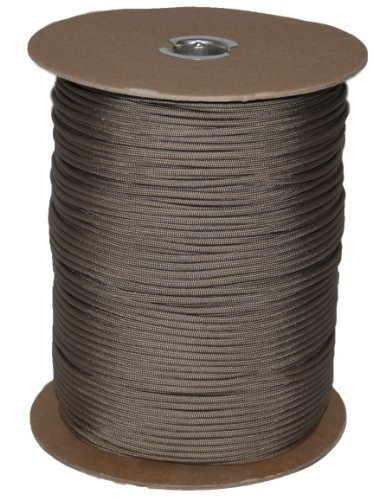 T.W . Evans Cordage 6510DT Para cord 1000-Feet Spool, Desert Tan by T.W . Evans Cordage Co. by T.W . Evans Cordage Co.