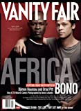 Vanity Fair July 2007 Africa Issue, Hounsou/Pitt Cover