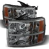 Xtune HD-JH-CSIL07-AM-SM Chevy Silverado Headlight