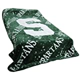 College Covers Michigan State Spartans Throw Blanket/Bedspread by College Covers