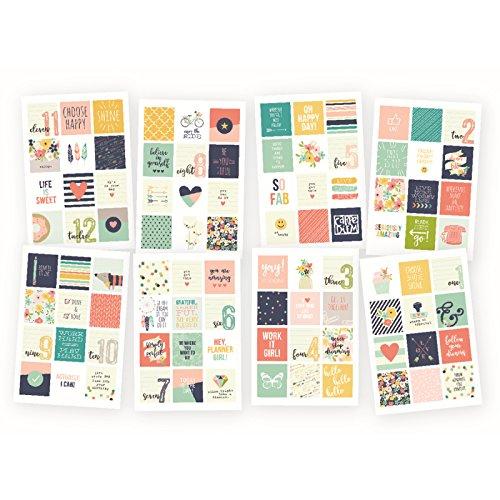 Carpe Diem 4971 Posh Insta Quote Stickers