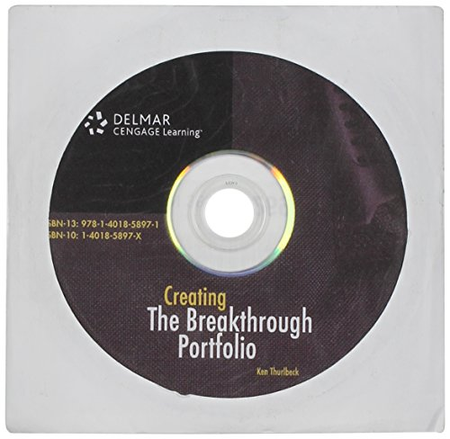 Student CD for Thurlbeck's The Breakthrough (Digital Design Portfolio Cd)