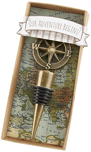 "Kate Aspen ""Our Adventure Begins"" Bottle Stopper"