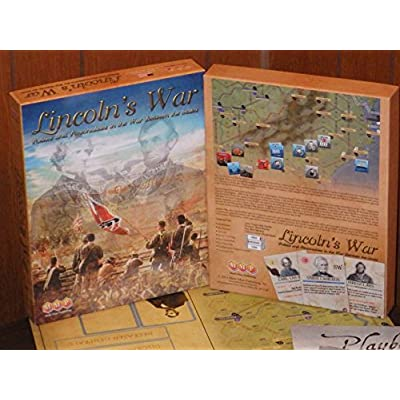 MMP: Lincoln's War, Politics & Personalities in the American Civil War, Board Game: Toys & Games