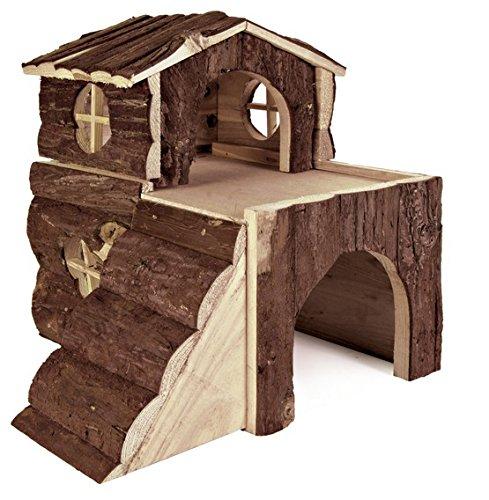 Croci Maison Villa en Bois pour Petits Animaux 15x15x16 cm R2075888