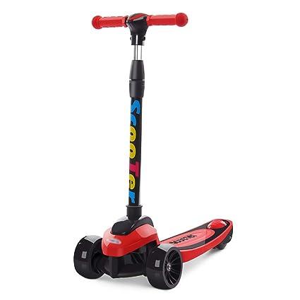 Patinetes de tres ruedas Kick Scooter Plegable para niños y ...