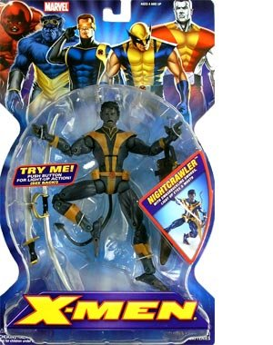 X men nightcrawler toys