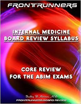 Amazon in: Buy FRONTRUNNERS Internal Medicine Board Review