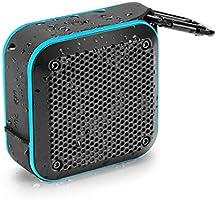 Portable Waterproof Bluetooth Speaker with FM Radio, IPX7 Waterproof Speaker Bluetooth Wireless Small Portable Speaker...