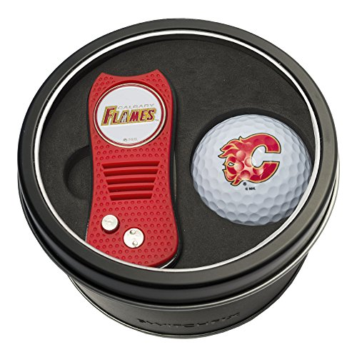 Team Golf NHL Tin Gift Set with Switchfix Divot Tool and Golf Ball