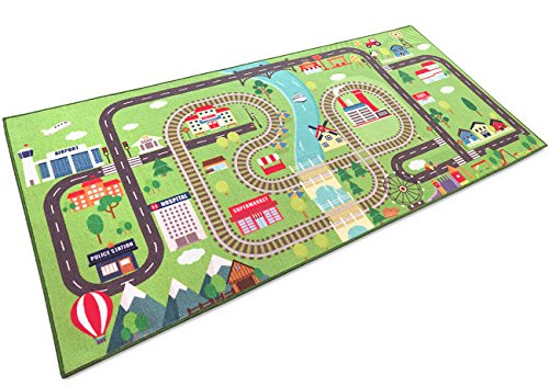 "Kids rugs for playroom Large Kids play rugs 79"" x 40"" for girls and for boys- Transform the bedroom of your boys & girls with the colorful play mat in - The Woodlands Market Square"