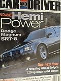 2003 Dodge Magnum SRT-8 / VW Volkswagen Beetle GLS Convertible / Infiniti FX45 / Honda Element / Nissan Murano / Road Test