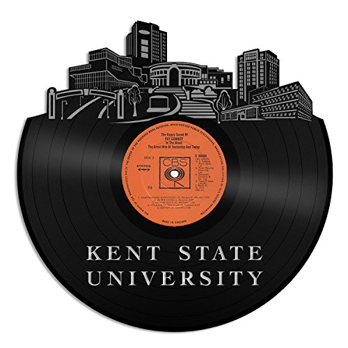 (VinylshopUS - Kent State University Vinyl Wall Art with Out Framed Skyline Best Gift Home and Office| Room Decoration)