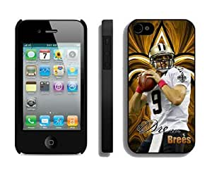 NFL New Orleans Saints iPhone 4 4S Case 052 iPhone 4 Cases by kobestar