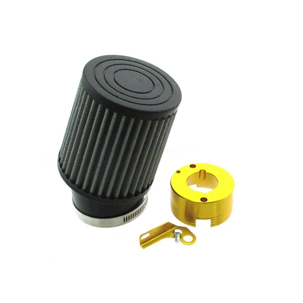 Race-Guy Air Filter Adapter for 11Hp 13Hp Honda GX340 GX390 Clone Engine Go Kart Predator 301cc 420cc Blue