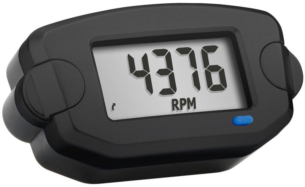 Trail Tech 742-A00 Black Surface Mount TTO Digital Tachometer plus Hour Meter by Trail Tech