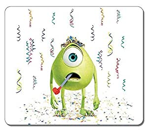 Customized Stylish Textured Surface Water Resistent Mousepad Mike Wazowski Monsters University High Quality Non-Slip Gaming Mouse Pads by ruishername