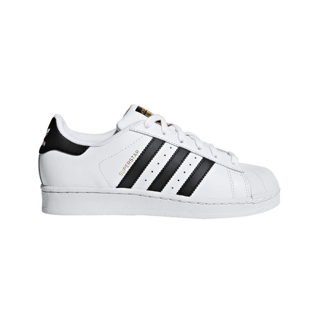 adidas Originals Kids' Superstar, White/Black/White, 5.5 M US Big Kid