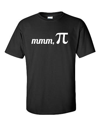 f5484ed57 Not Just Nerds mmm Pi Maths T-Shirt: Amazon.co.uk: Clothing