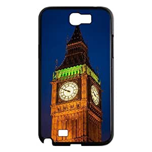 Big Ben Custom Cover Case with Hard Shell Protection for Samsung Galaxy Note 2 N7100 Case lxa#232913 by mcsharks