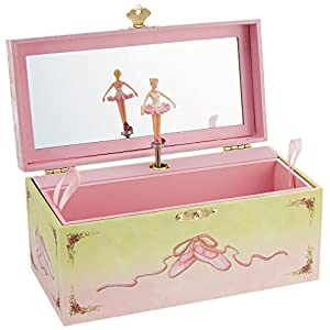 Enchantmints Ballet Shoes Musical Jewelry Box