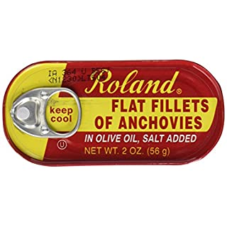 Roland Anchovies, Flat In Olive Oil, 2 oz