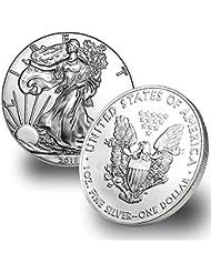 2018 1 Ounce American Silver Eagle $1 .999 Fine Silver Brilliant Uncirculated US Mint