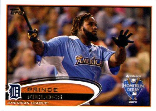 2012 Topps Update Series Baseball Card # US237 Prince Fielder HR Derby Detroit Tigers