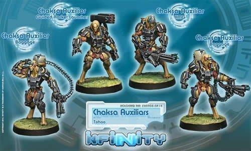 Chaksa Auxiliars (4) Tohaa Infinity Corvus Belli