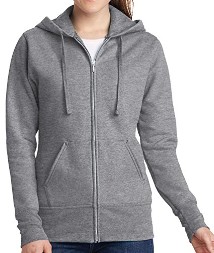 Womens El Bandito Full Zip Hoodie, Athletic Heather, 3X