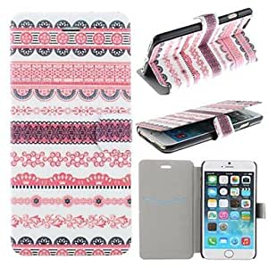 GX Luminous Small Flower Pattern PU Leather Full Body Cover with Card Slot for iPhone 6