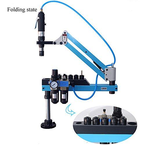 M6-M24 Universal Type Pneumatic Tapping Machine Automatic Pneumatic Drilling Machine Air Tapper Tool With Working Reach 1200M B077YGMDNK