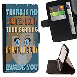 Dragon Case - FOR LG G3 - No fire without smoke - Caja de la carpeta del caso en folio de cuero del tirš®n de la cubierta protectora Shell