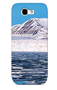 Hot LiCKrMx1053EcASp Case Cover Protector For Galaxy Note 2- Svalbard Norway/ Special Gift For Lovers