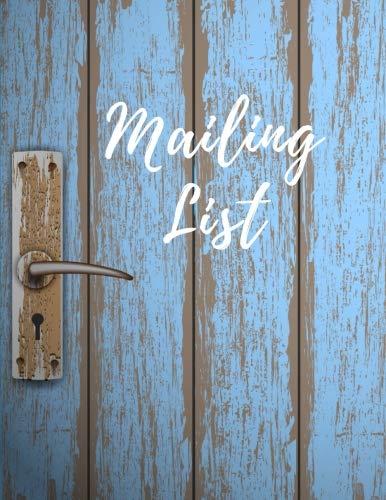 Mailing List: Sign Up Registration Book - Open House Registry - Signatures & Visitor Guest ()