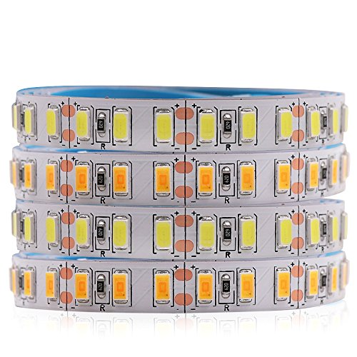 XUNATA 5m LED Strip SMD 5730 5630 120 LEDs/m Flexible LED Tape Light SMD Epistar, Non-waterproof DC12V, Cold White
