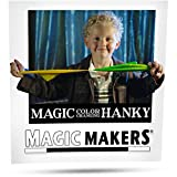 Remember when you were a kid and first became infatuated with magic? That wonderful mysterious excitement you felt when seeing a new magic trick? Enter the color changing hanky by magic makers. This is your first step towards becoming that magician y...