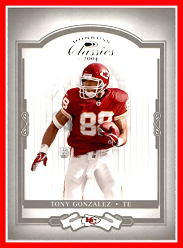 2004 Donruss Classics #46 Tony Gonzalez KANSAS CITY CHIEFS Cal California Golden Bears
