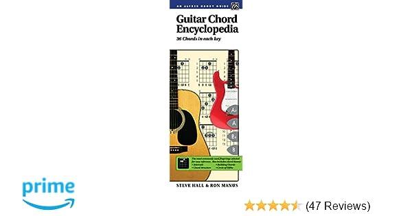 Guitar Chord Encyclopedia: 36 Chords in Each Key, Comb Bound Book ...