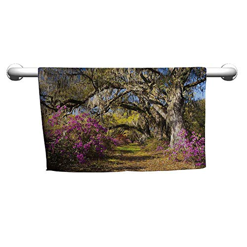 - alisoso Landscape,Face Towels Child Flowers in Charleston W 35