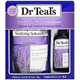 Dr. Teal's Epsom Salt & Foaming Bath Sampler - Lavender