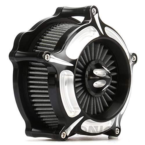 Deep Cut turbine spike Air Cleaner for harley sportster 883 1991-2018 air filters sportster 1200 black