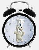 New Pillsbury Doughboy Alarm Desk Clock 3.75'' Home or Office Decor W416 Nice For Gift