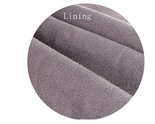 Lining auténtica Tobillo Dethan Botas tacón Redonda Piel de Mujer cloth Puntera bajo para Brown OOp4qSv
