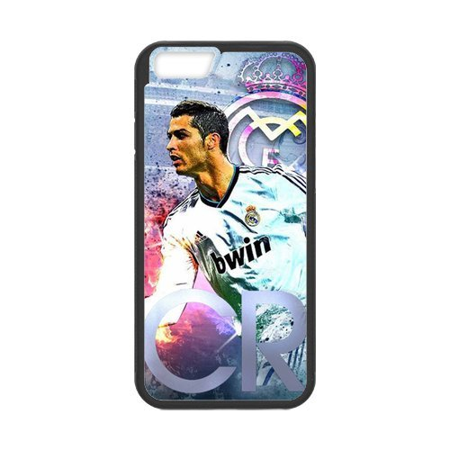 "Fayruz - iPhone 6 Rubber Cases, Cristiano Ronaldo Hard Phone Cover for iPhone 6 4.7"" F-i5G438"